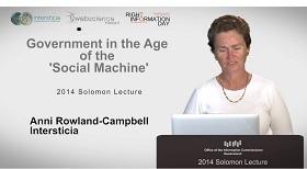 View 2014 Solomon Lecture
