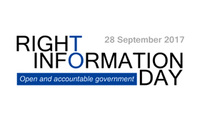 Right to Information Day 2017