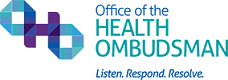 Office of the Health Ombudsman logo