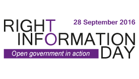 Right to Information Day 2016