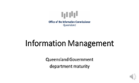 image of Audit of information management maturity